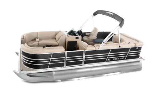 Legend Pontoon Boat BayShore Series Cruise for sale in Ottawa