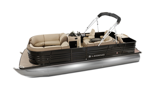 Legend Pontoon Boat Black Series Bar 2 Tube for sale in Ottawa