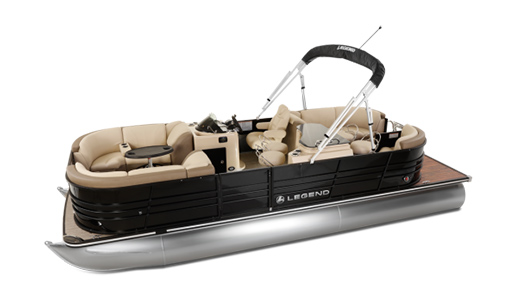 Legend Pontoon Boat Black Series Bar Tri-Tube for sale in Ottawa