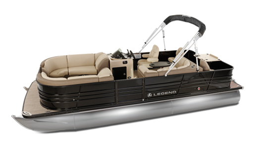 Legend Pontoon Boat Black Series Flex Tri-Tube for sale in Ottawa