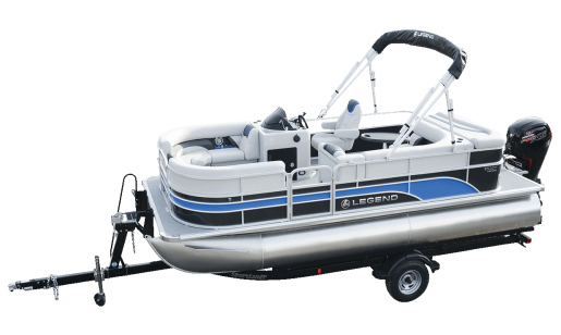 Legend Pontoon Boat Enjoy Series Enjoy Cruising Sport for sale in Ottawa