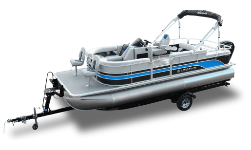 Legend Pontoon Boat Enjoy Series Enjoy Flexibility Sport for sale in Ottawa