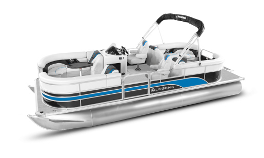 Legend Pontoon Boat Enjoy Series Enjoy Lounging for sale in Ottawa