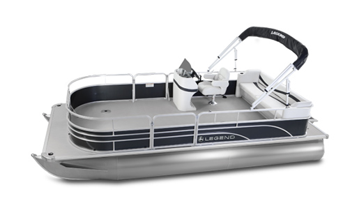 Legend Pontoon Boat Enjoy Series Enjoy Transporting for sale in Ottawa