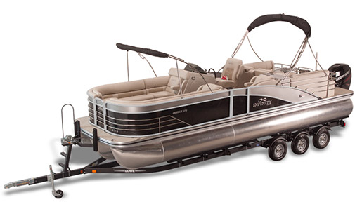 New Lowe Pontoon Boat Infinity 270 RFL for sale in Ottawa