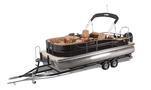 New Lowe Pontoon Boat Retreat 230 RFL for sale in Ottawa