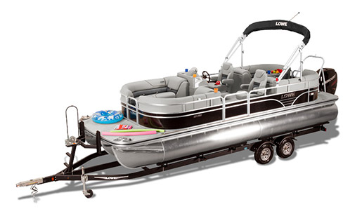 New Lowe Pontoon Boat SS SS250 Extended Walk Thru a vendre a Gatineau