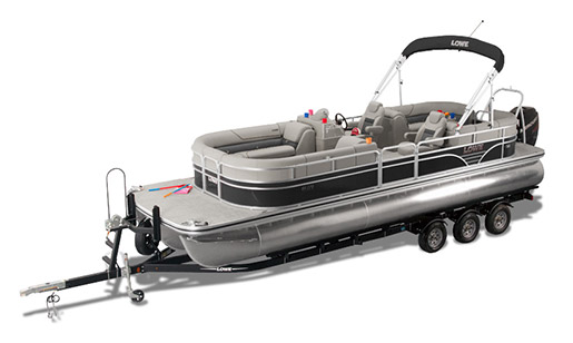 New Lowe Pontoon Boat SS SS270 Extended Walk Thru for sale in Ottawa