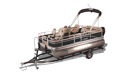 New Lowe Pontoon Boat Ultra 162 Fish & Cruise for sale in Ottawa