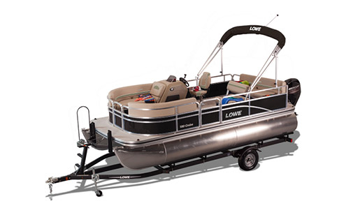 New Lowe Pontoon Boat Ultra 180 Cruise for sale in Ottawa
