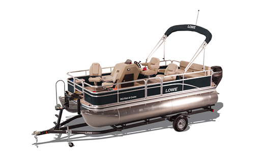 New Lowe Pontoon Boat Ultra 182 Fish & Cruise for sale in Ottawa