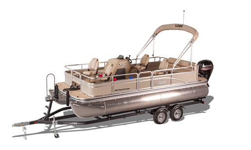 New Lowe Pontoon Boat Ultra 202 Fish & Cruise for sale in Ottawa